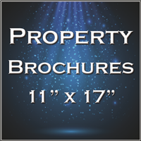 "Property Brochure Templates 11""x17"" Foldover"