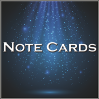 Note Cards Folded