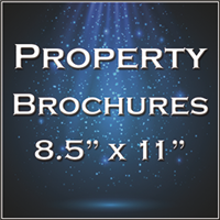 "Property Brochure Templates 8.5""x11.0"""