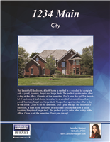 "Property Brochures 8.5"" x 11"" Coldwell 3006"