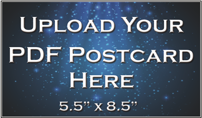 "Postcard 5.5""x8.5"" - Upload Your File"