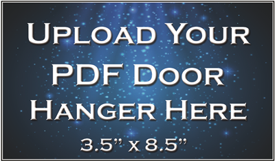 Door Hanger - Upload Your File