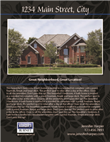 "Property Brochures 8.5"" x 11"" Coldwell 3007"